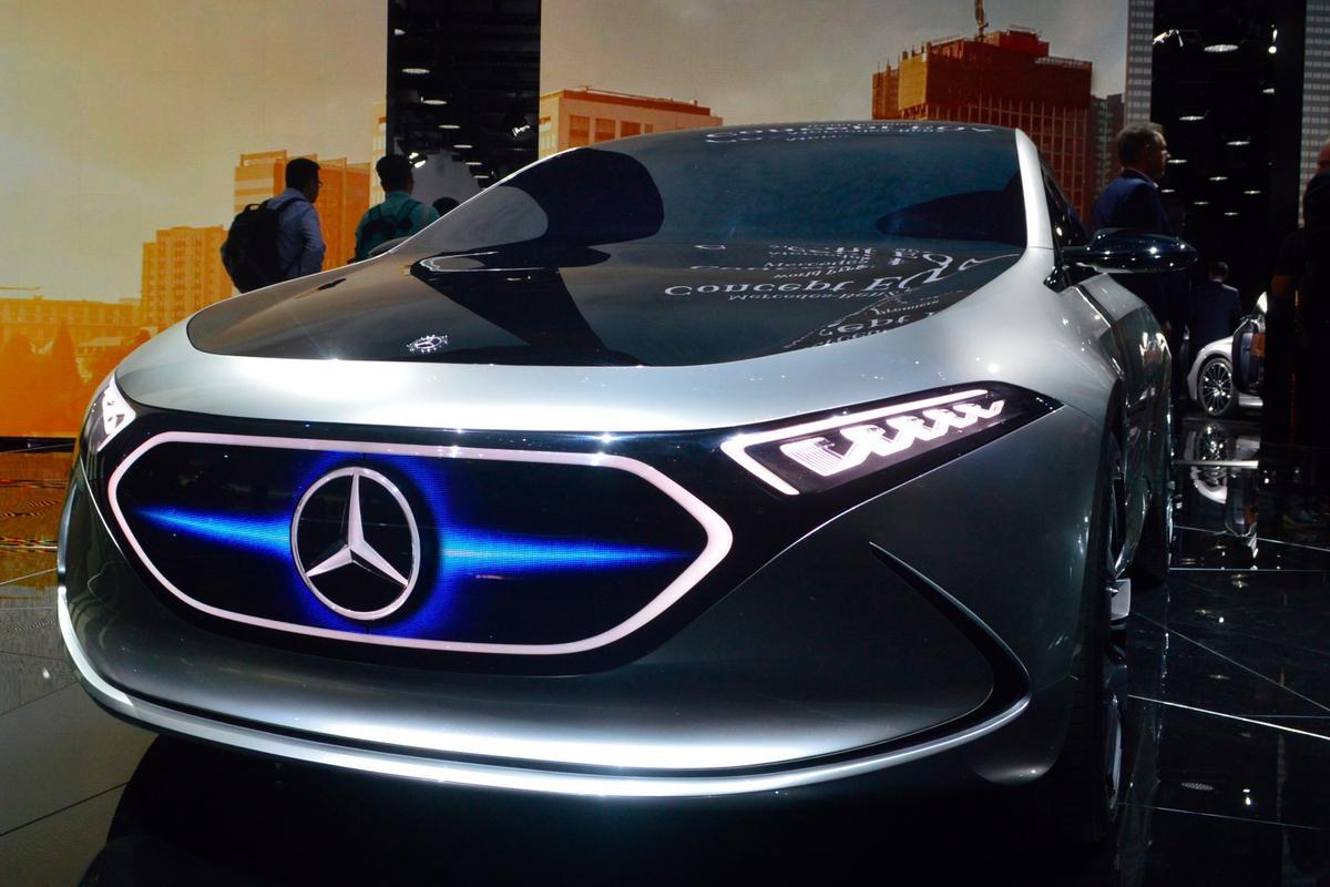 Mercedes-Benz EQAdebuts in Frankfurt