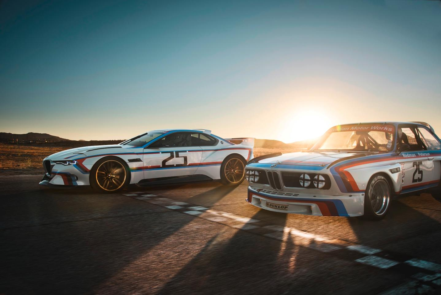 The 3.0 CSL Hommage R has been designed to celebrate 40 years of BMW in the USA