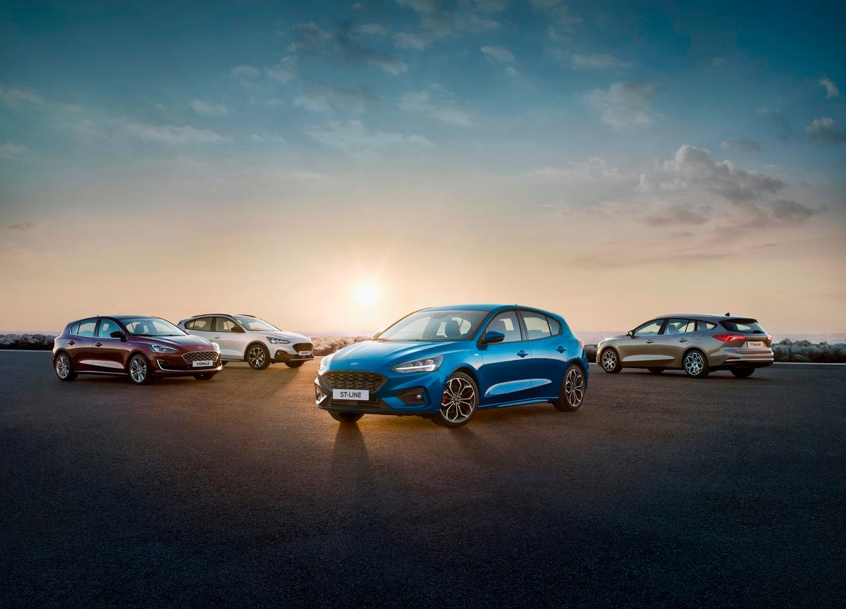 Ford's New Focus ST, Active, Titanium and Vignale represent the first fruits of a new design philosophy