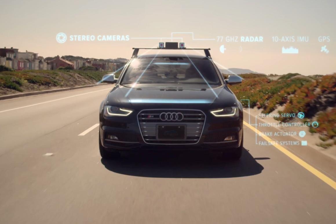 Start-up offers aftermarket kit for autonomous Audi cruising