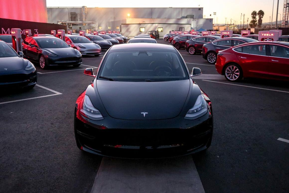 Tesla's Model 3 became the top-selling luxury vehicle in the US last year
