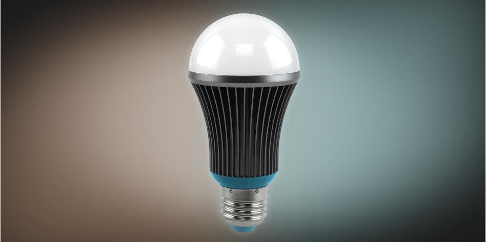 The idea is that the Silk lightbulb will give you energy boosting blue light in the daytime and warm light in the evening to help you chill