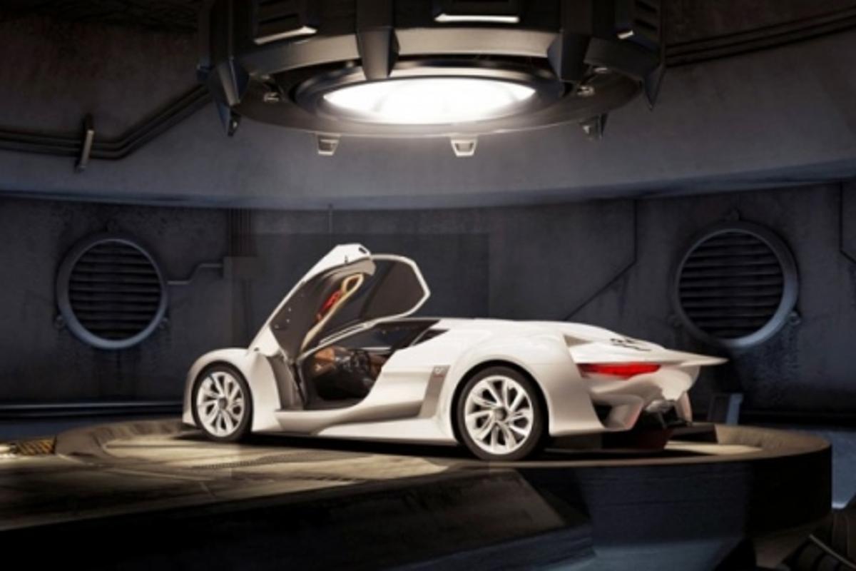 GTbyCITROEN concept car