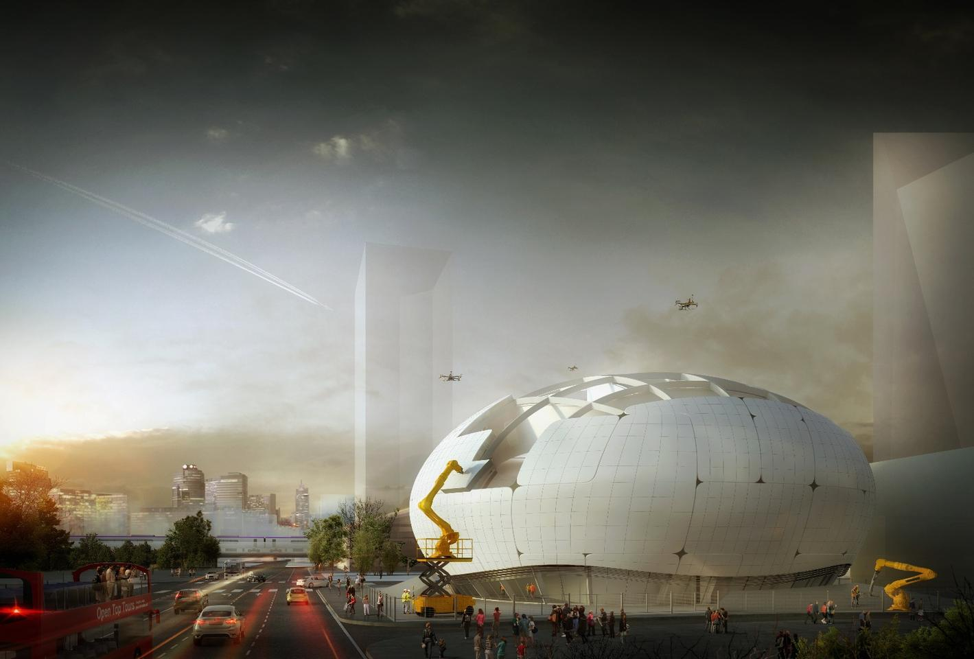 The Robot Science Museum is due to be completed in 2022