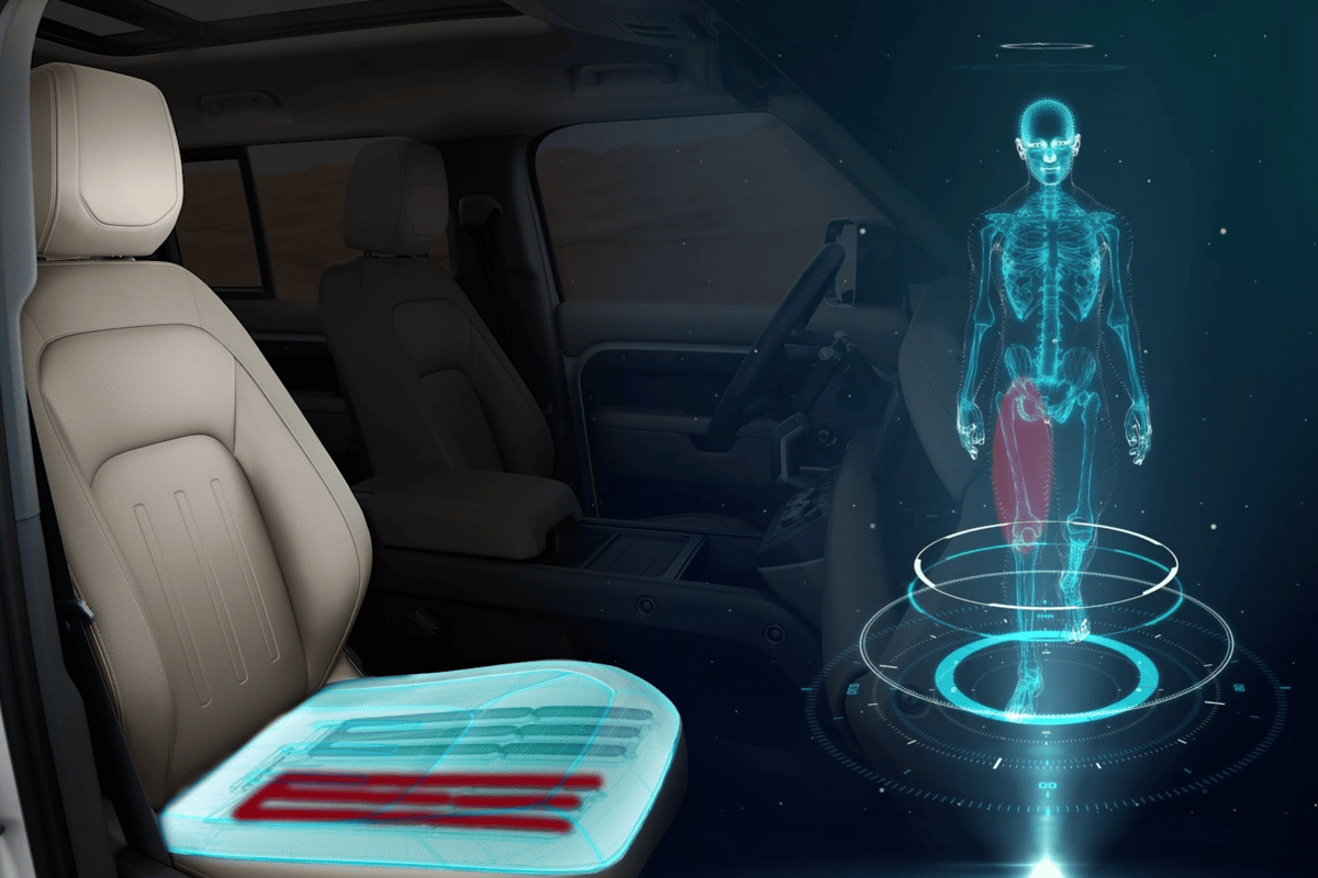 "The ""morphable"" seat will provide continuous motion on long journeys to fool your body into thinking it's moving"