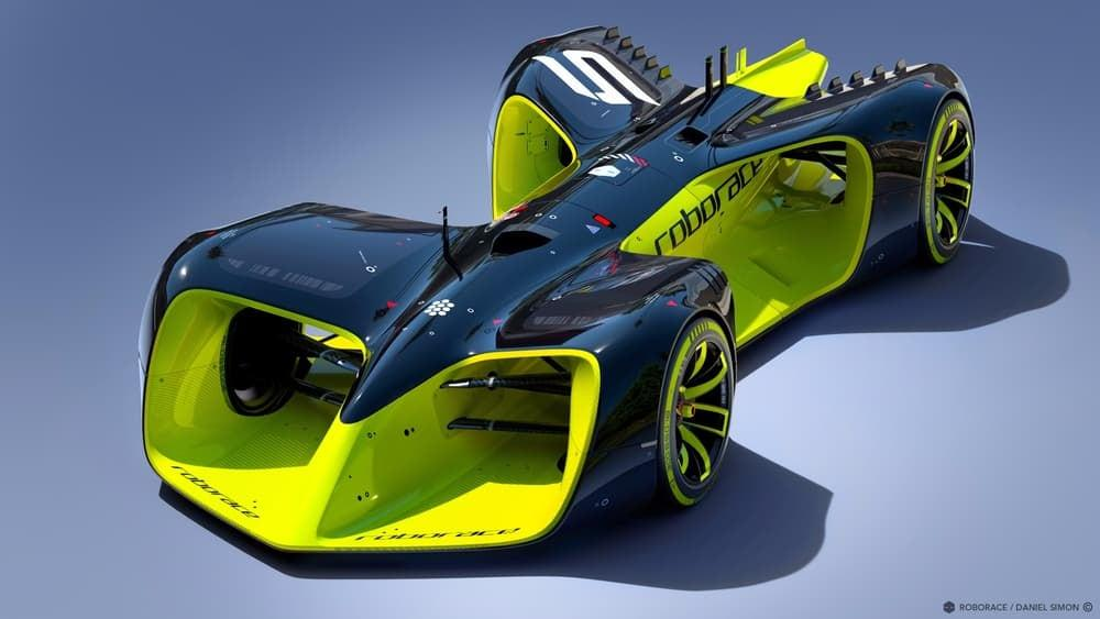 The final Roborace car will look like this