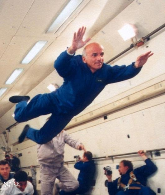Dennis Tito in trainingPhoto: Space Adventures