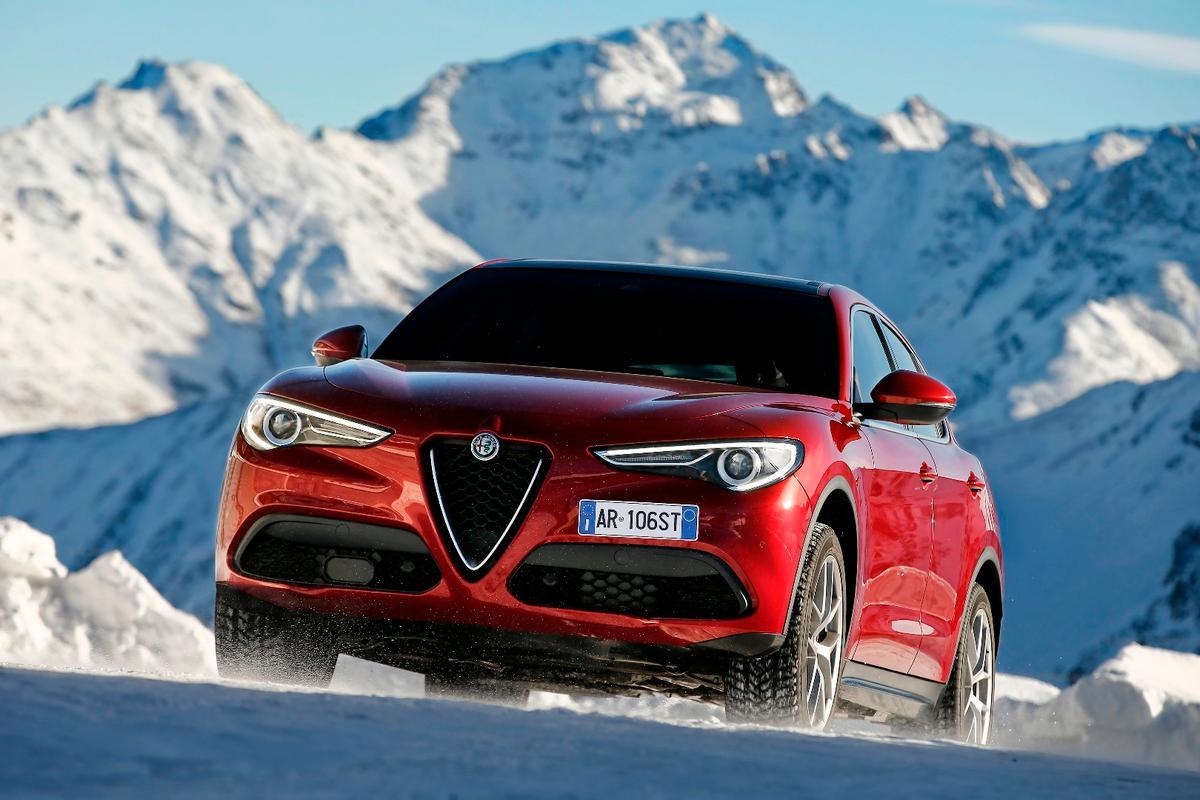 The new Alfa Romeo Stelvio