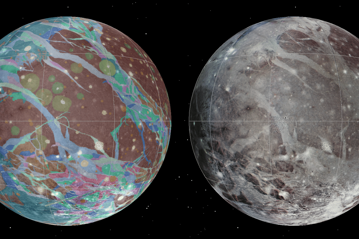 The image is a mosaic of the best shots from various missions (Image: USGS Astrogeology Science Center/Wheaton/NASA/JPL-Caltech)