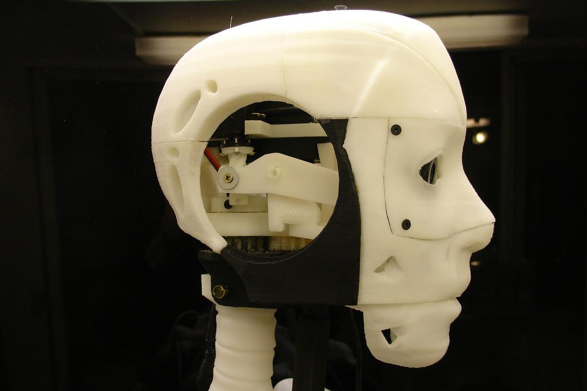 InMoov is an animatronic android designed and engineered by Gael Langevin