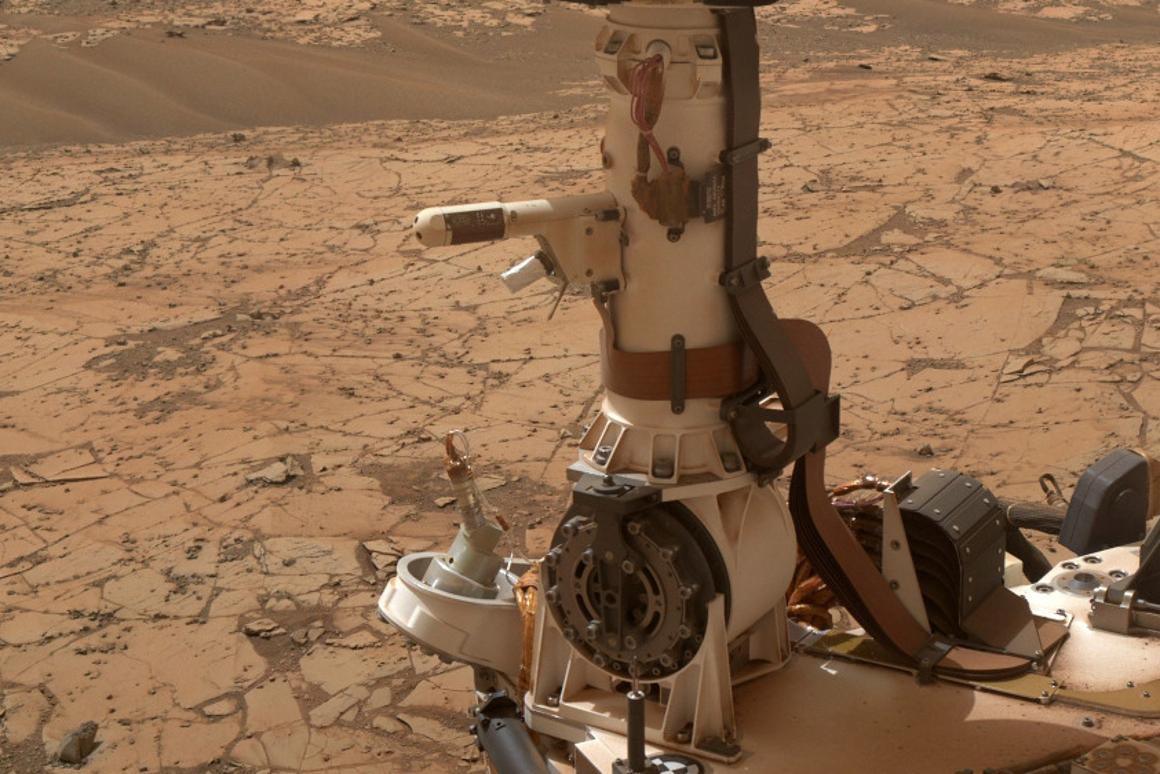 Scientists have unearthed the first evidence that pools of water are developing on Mars today, and on a regular basis (Photo: NASA/JPL-Caltech/MSSS)