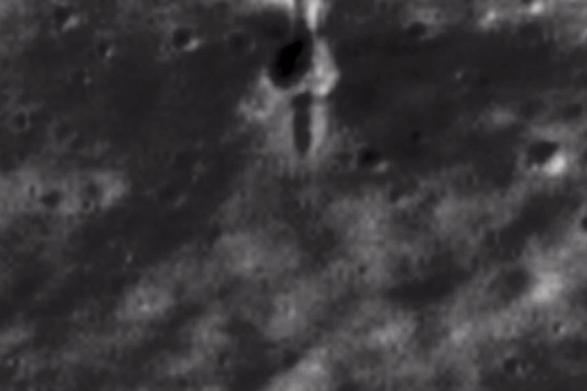 The Lunar Reconnaissance Orbiter has spotted the telltale scar of the impact site of SMART-1, an ESA spacecraft that was deliberately crashed into the surface in 2006