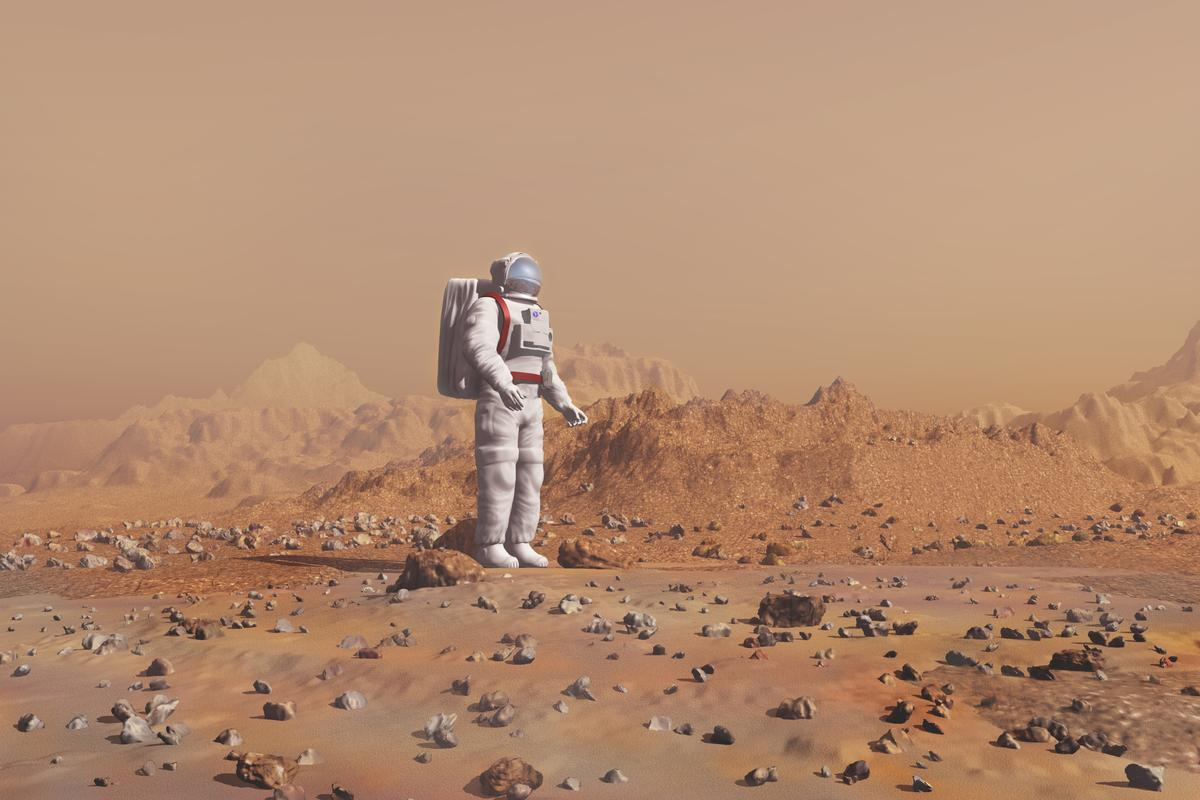 Future Mars explorers might build structures on site by tapping into their own blood