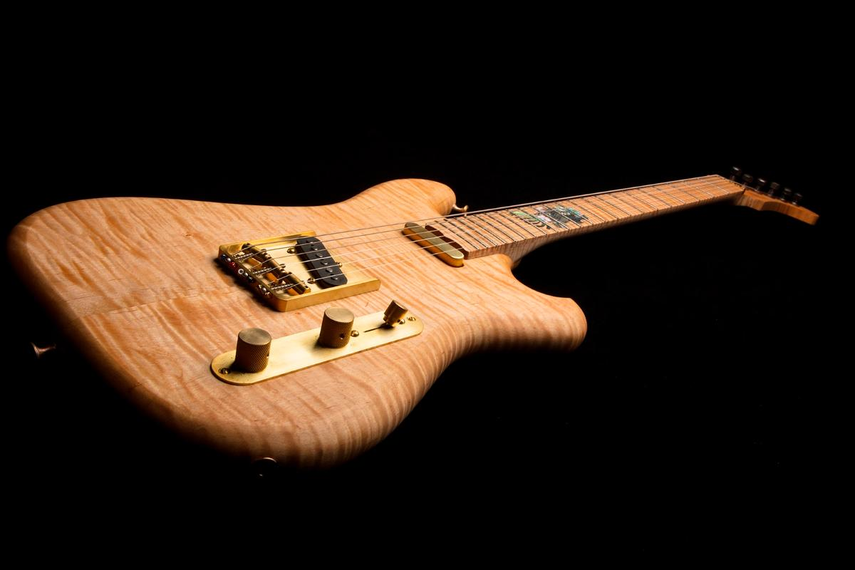 The Ocean's body shape is based on Jerry Garcia's Wolf guitar, which recently sold at auction for $1.9 million