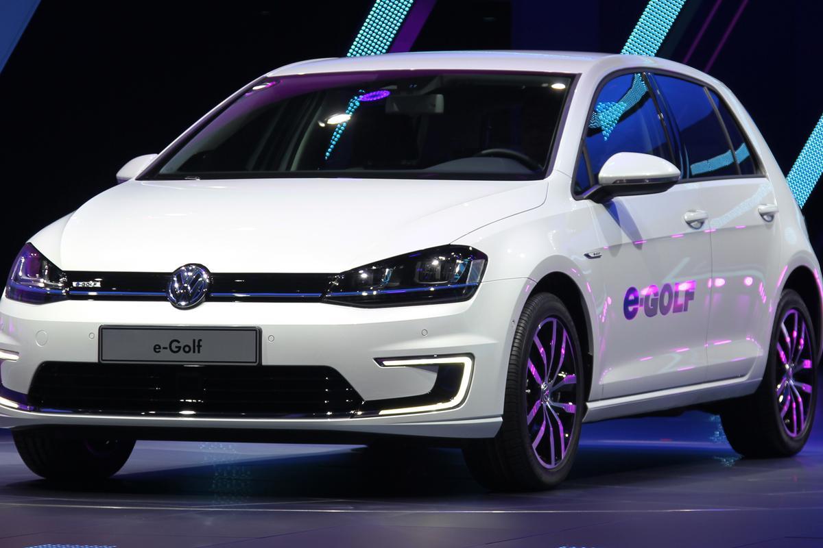 VW's new e-Golf (Photo: Gizmag)