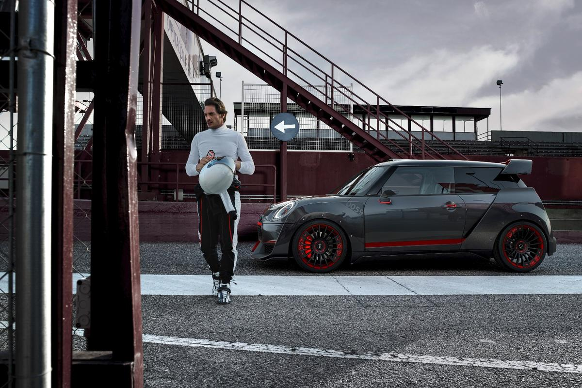 The newMiniJohn Cooper Works GPConcept provides a glimpse at an aggressive, track-ready Mini