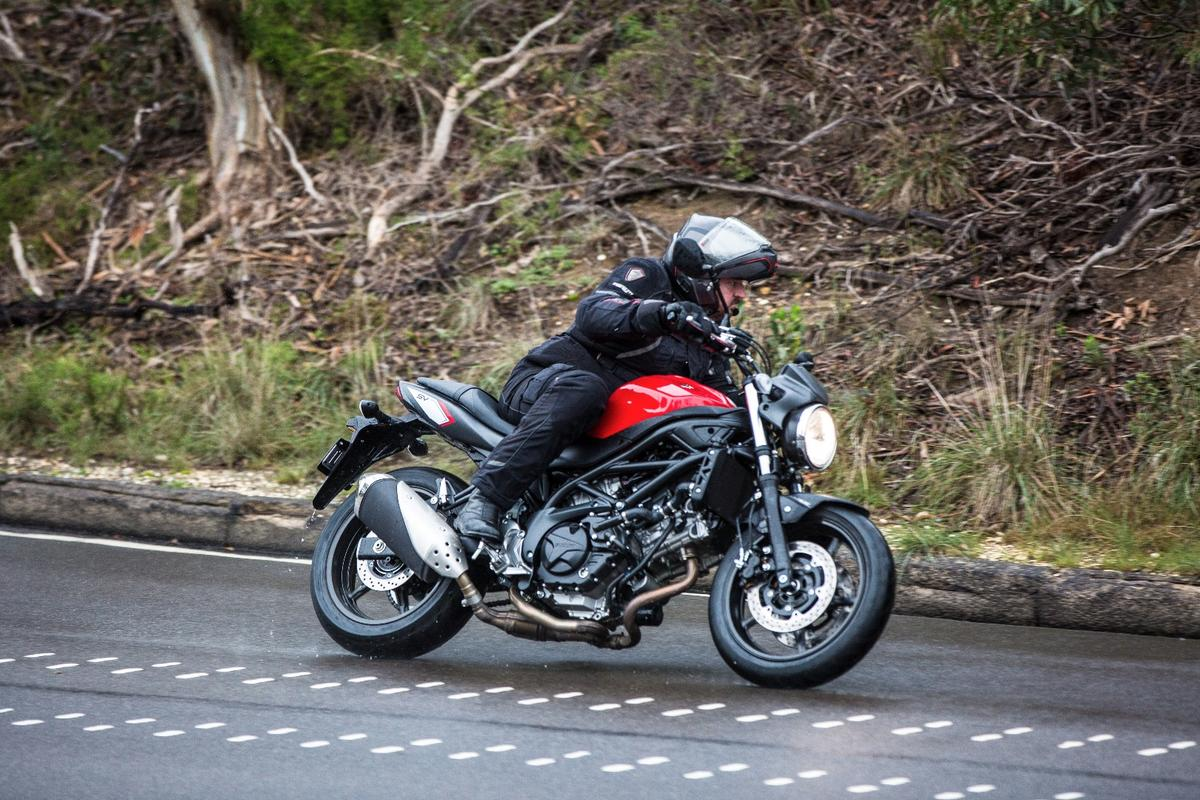 Motorcycles News: Review: Suzuki SV650 squeezes big fun