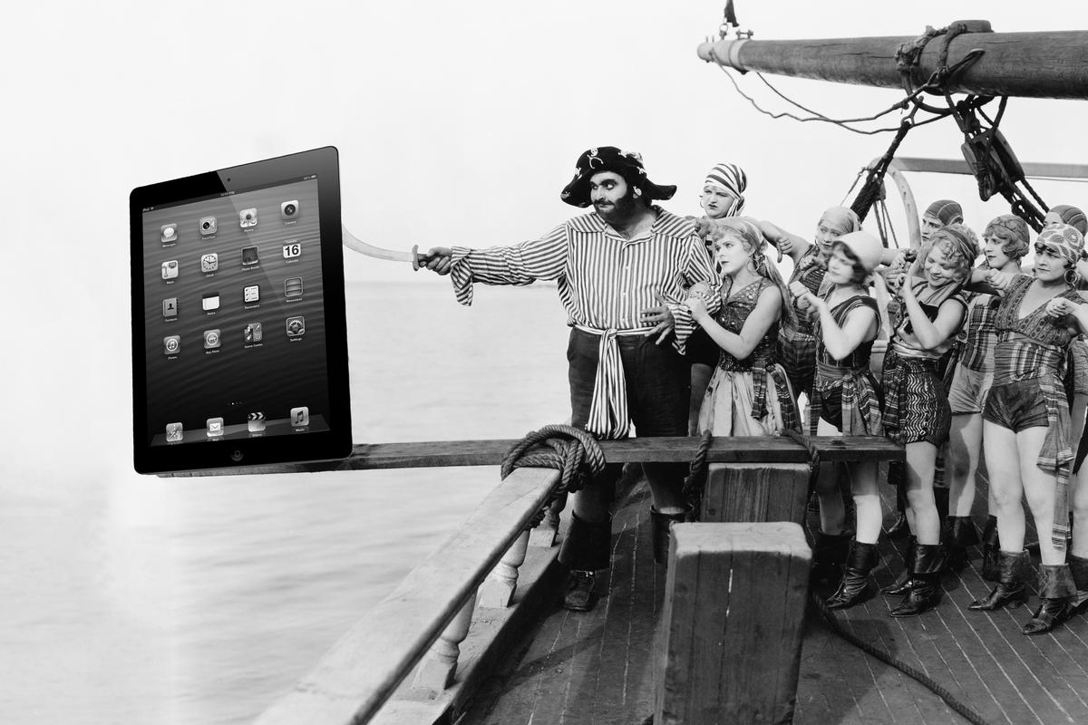 One analyst believes the iPad 2 will be walking the plank (original: Shutterstock)