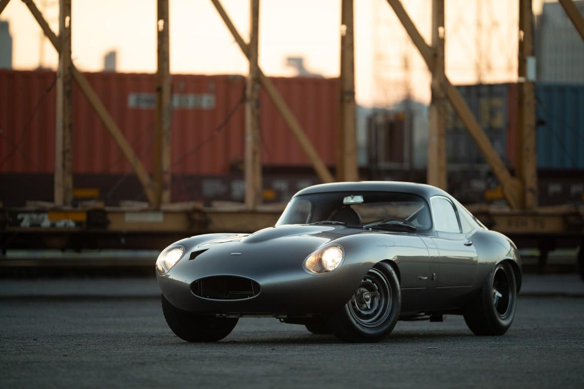 Marco Diez, known for his high-end restorations, unveiled the 1963 Jaguar E-Type Low Drag Coupe restoration at The Quail, a Motorsports Gathering in California