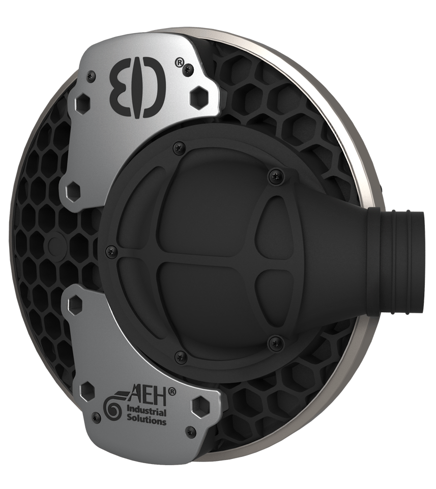 Alter Ego's Drum Charger: exterior view