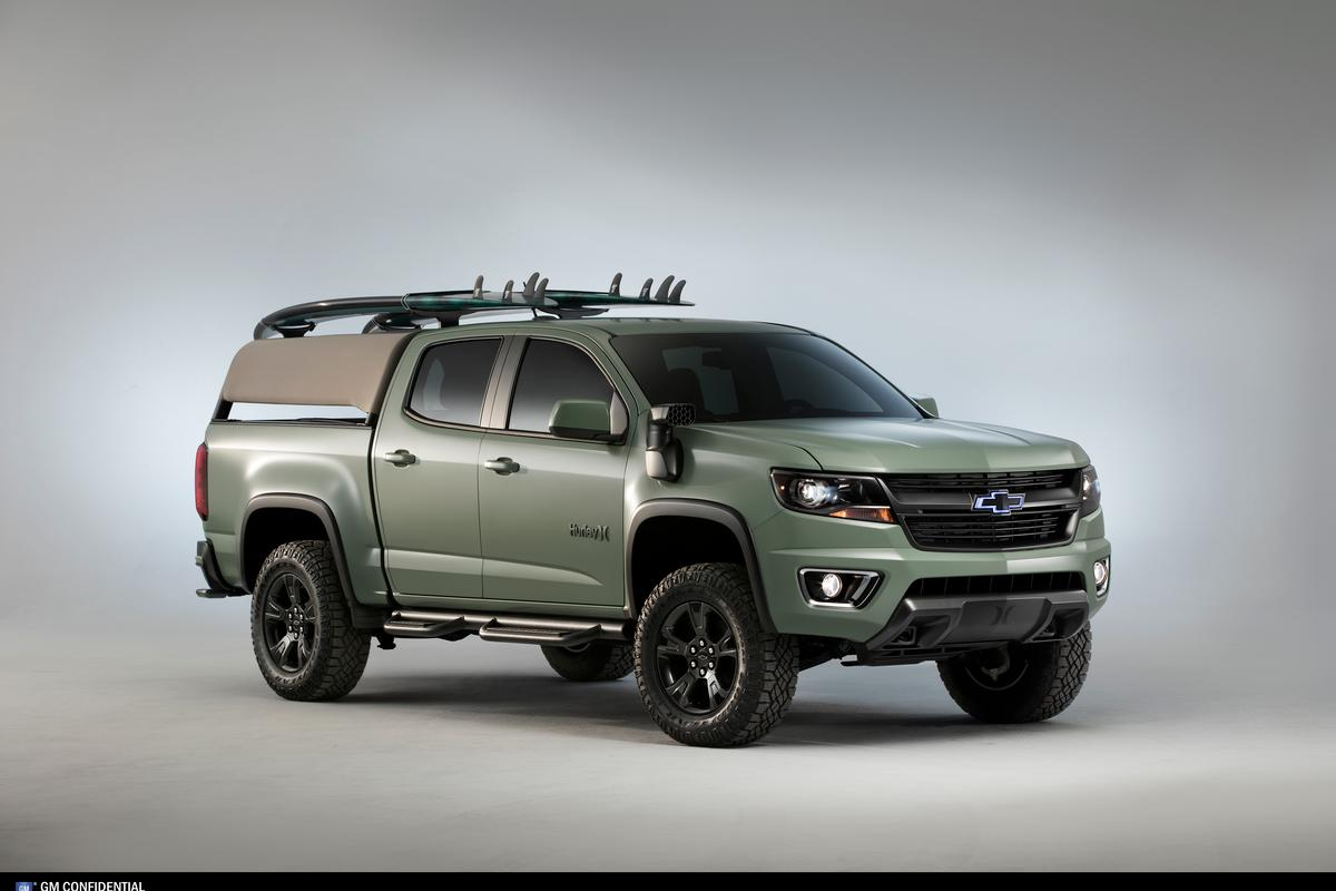 Surf's up for Chevrolet with the Colorado Z71 Hurley Concept