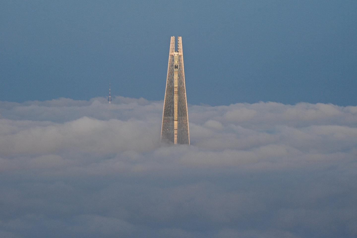 The Lotte World Tower is the world's fifth-tallest building