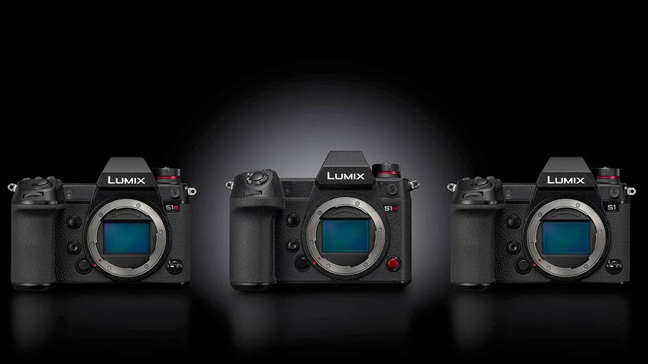 The upcoming Lumix S1H takes center stage among its S- Series siblings