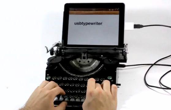 The ultra-retro USBTypewriter