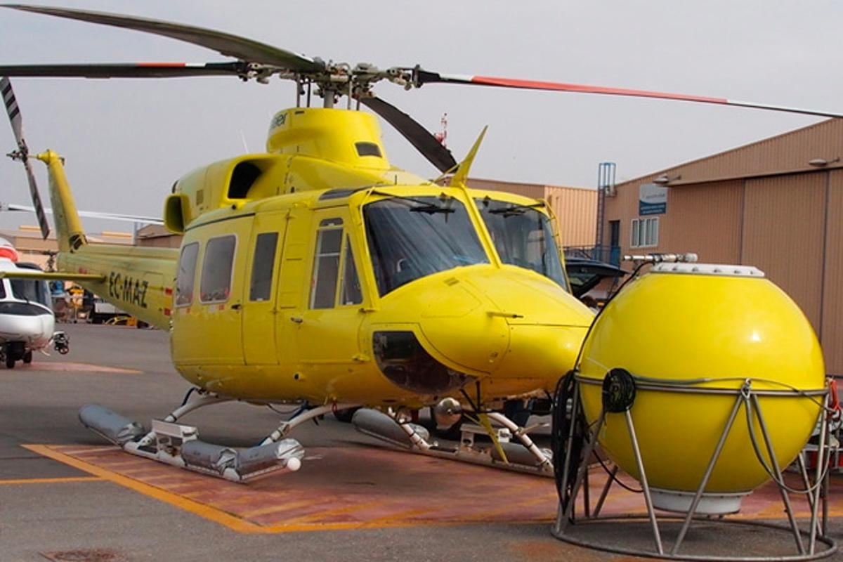 Inventec's system is claimed to be faster and safer than existing helicopter-based water-delivery methods