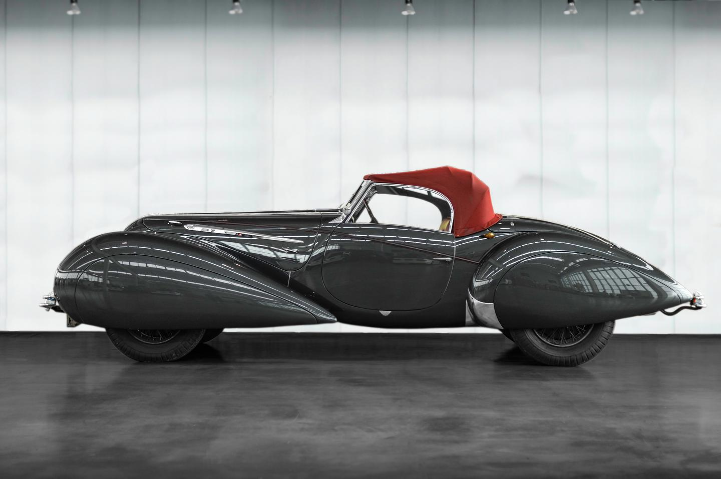 1939 Delahaye 135 Roadster in the style of Figoni et Falaschi