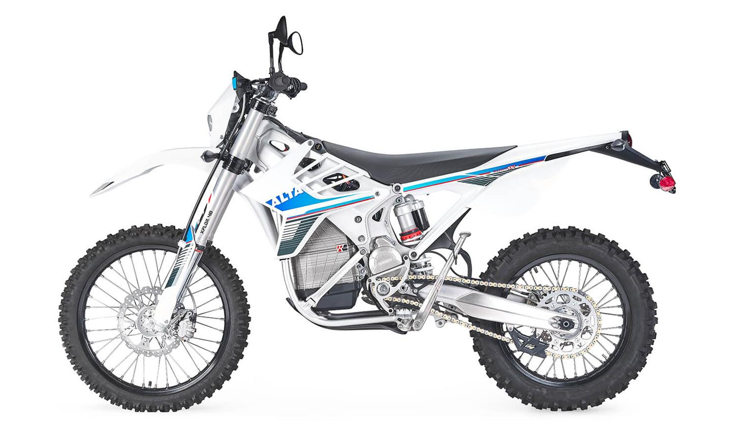 Alta Redshift EXR: 273-pounds weight ready to ride
