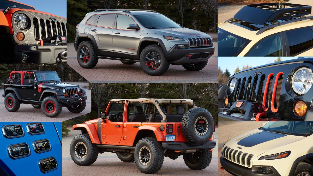 2014 Jeep Safari concepts for the annual Easter Jeep Safari