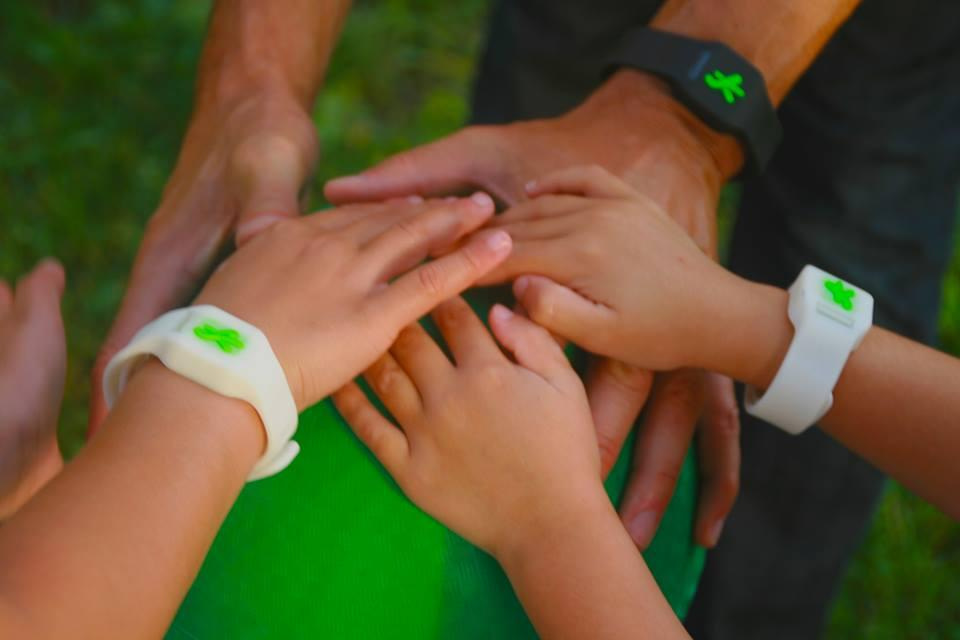 The Sync Smartband is intended for use by both parents and their children