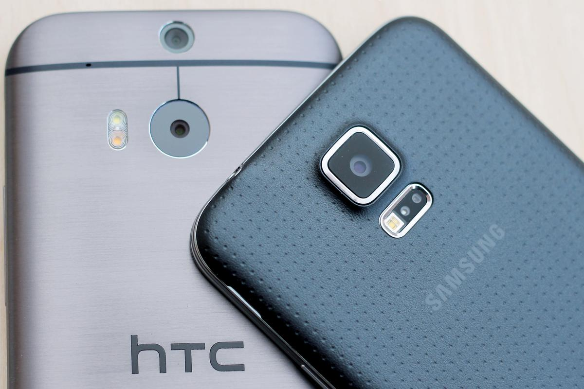 Gizmag shares some hands-on impressions of the HTC One (M8) and Samsung Galaxy S5