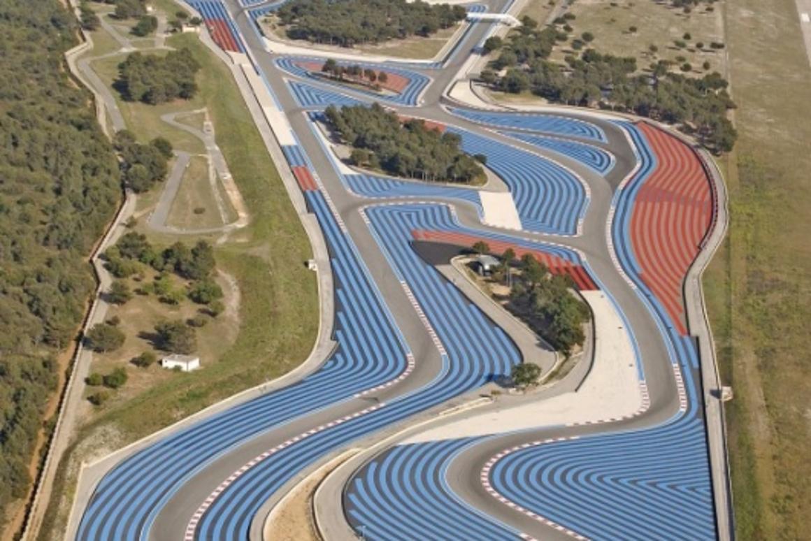 Le Castellet is the circuit built by Paul Ricard