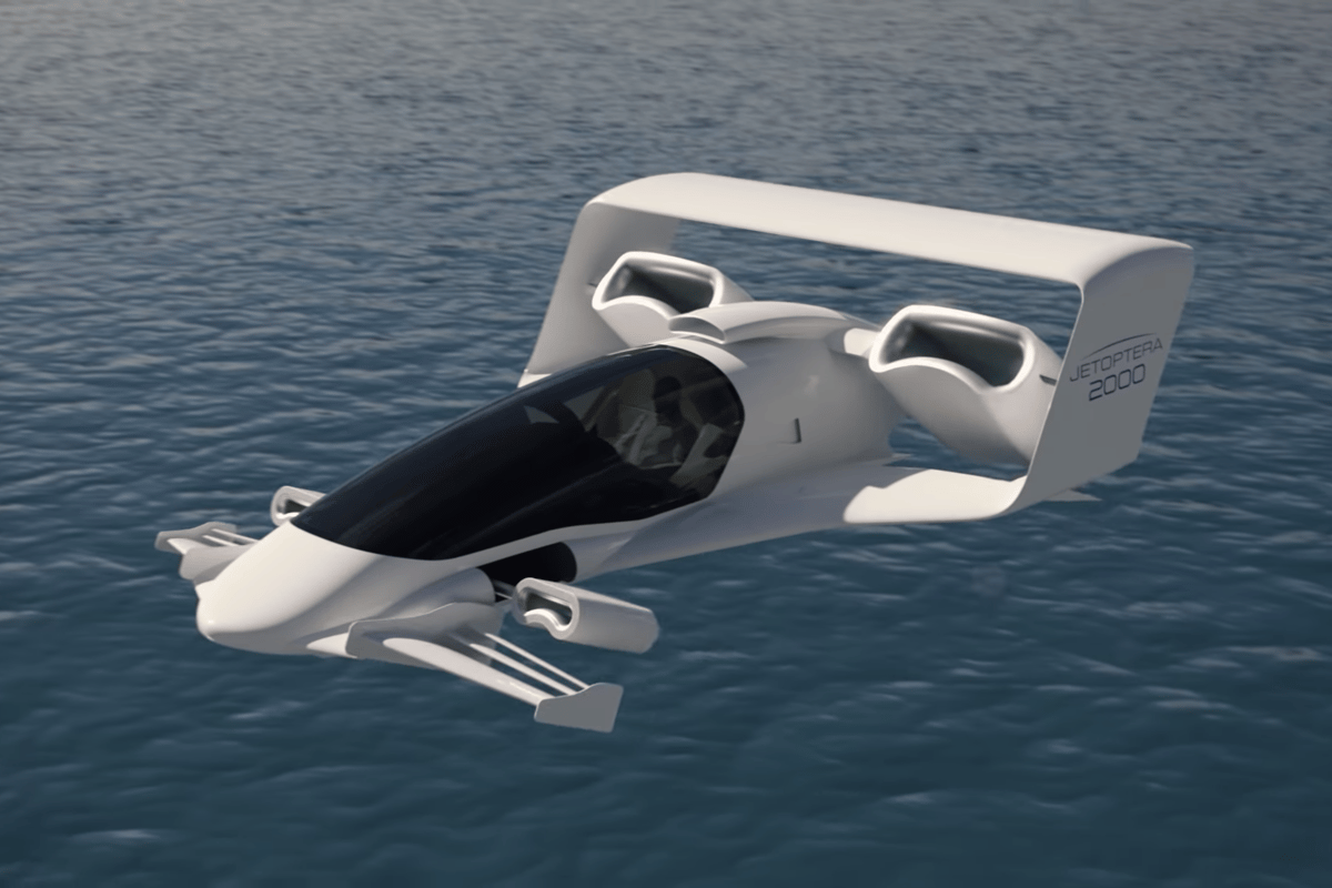 """Jetoptera says its """"fluidic propulsion system"""" offers some unique opportunities for vectored thrust VTOL aircraft, among others"""