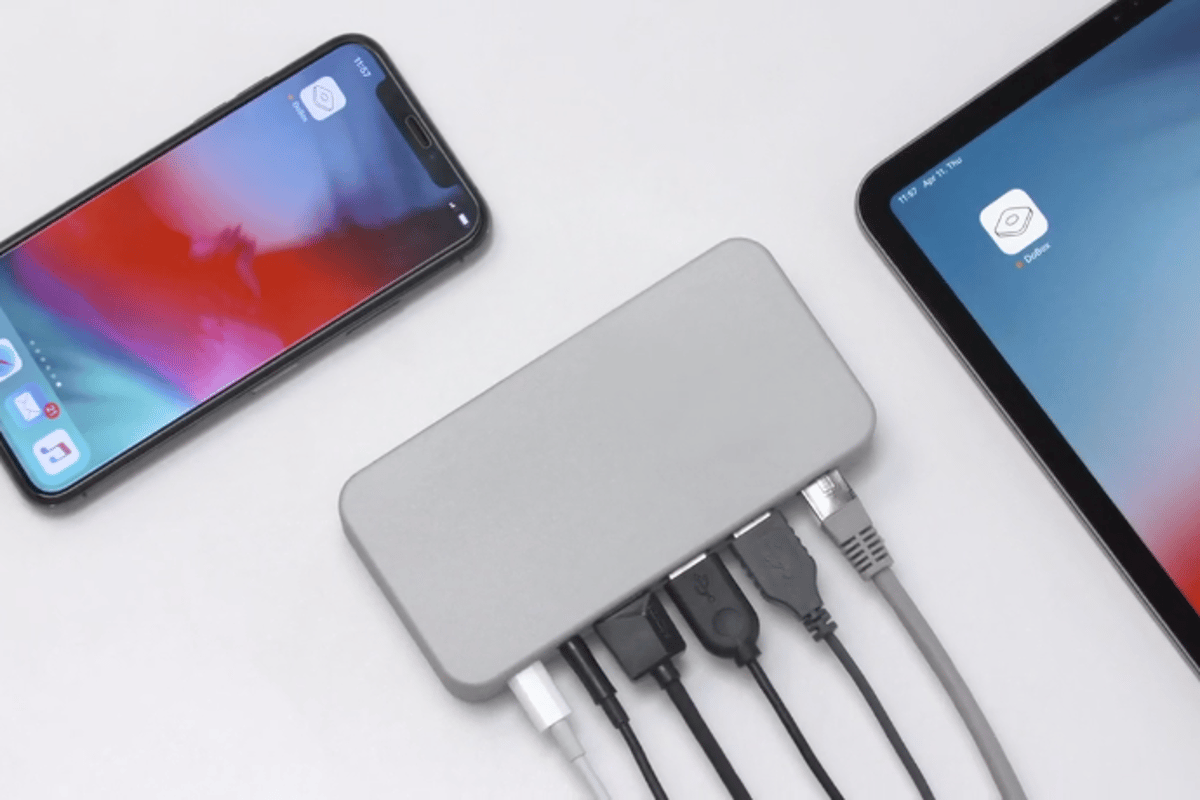 DoBox Mini is a truly wireless, all-in-one hub compatible with all iOS devices