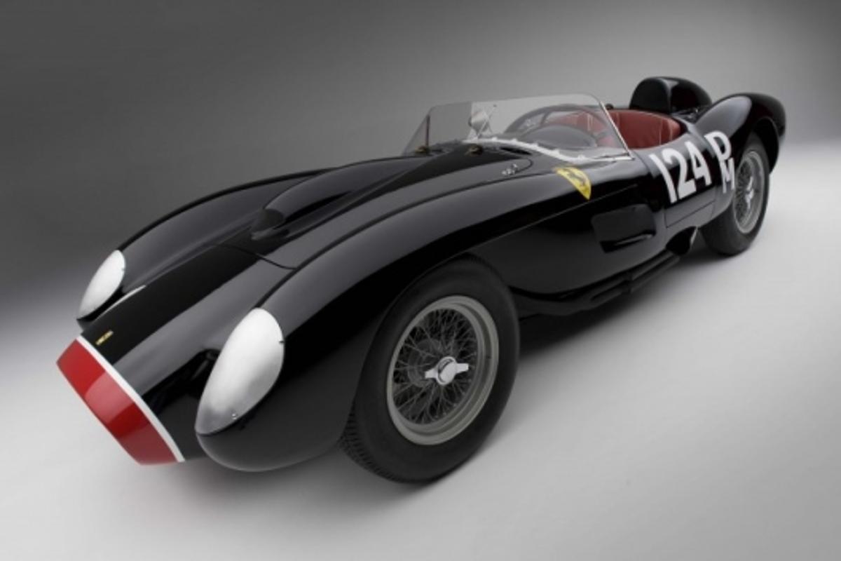 The 1957 Ferrari 250 TR Image: Darin Schnabel