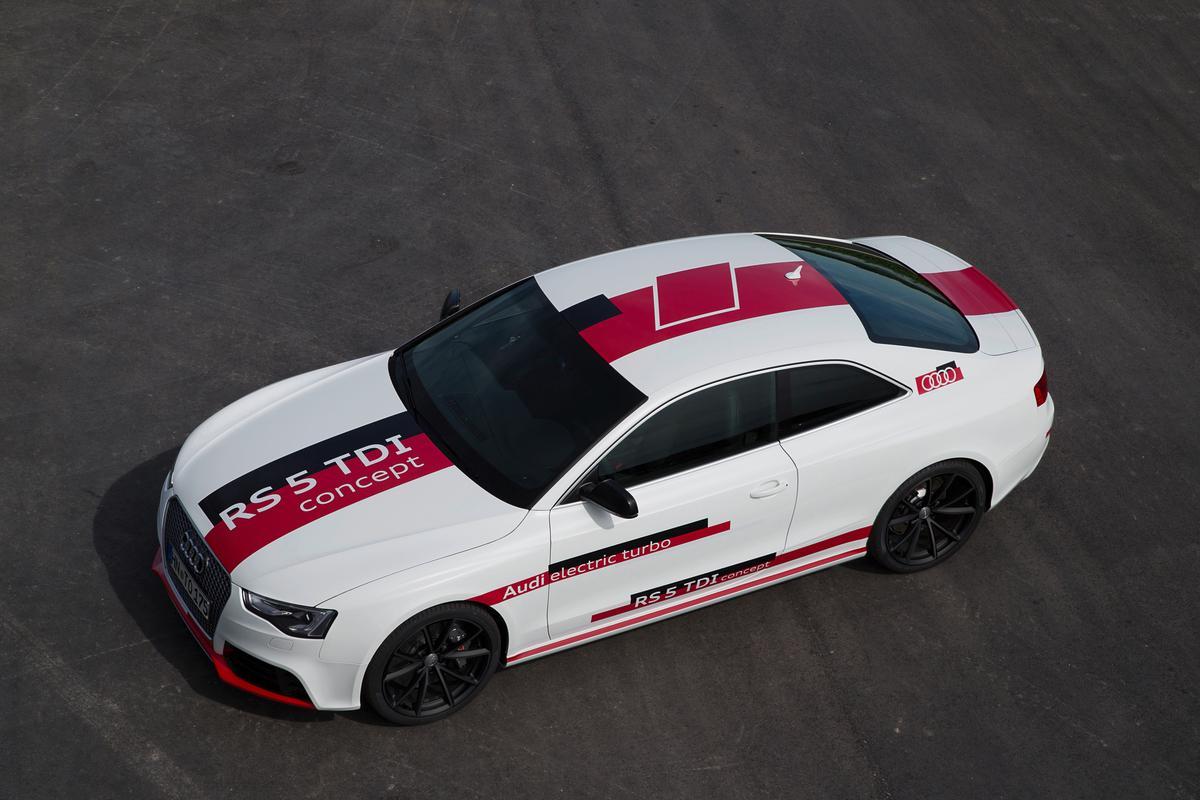 Audi's RS 5 TDI concept