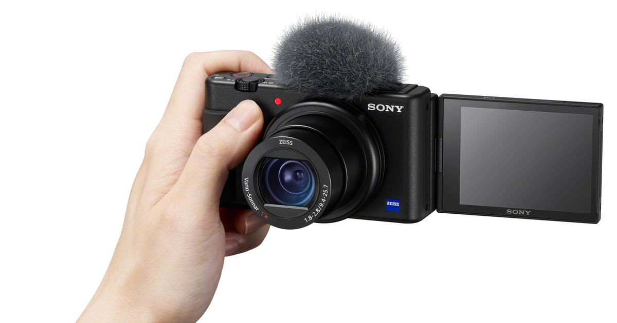 Sony unveils its attempt at the ultimate no-learning-curve vlog camera