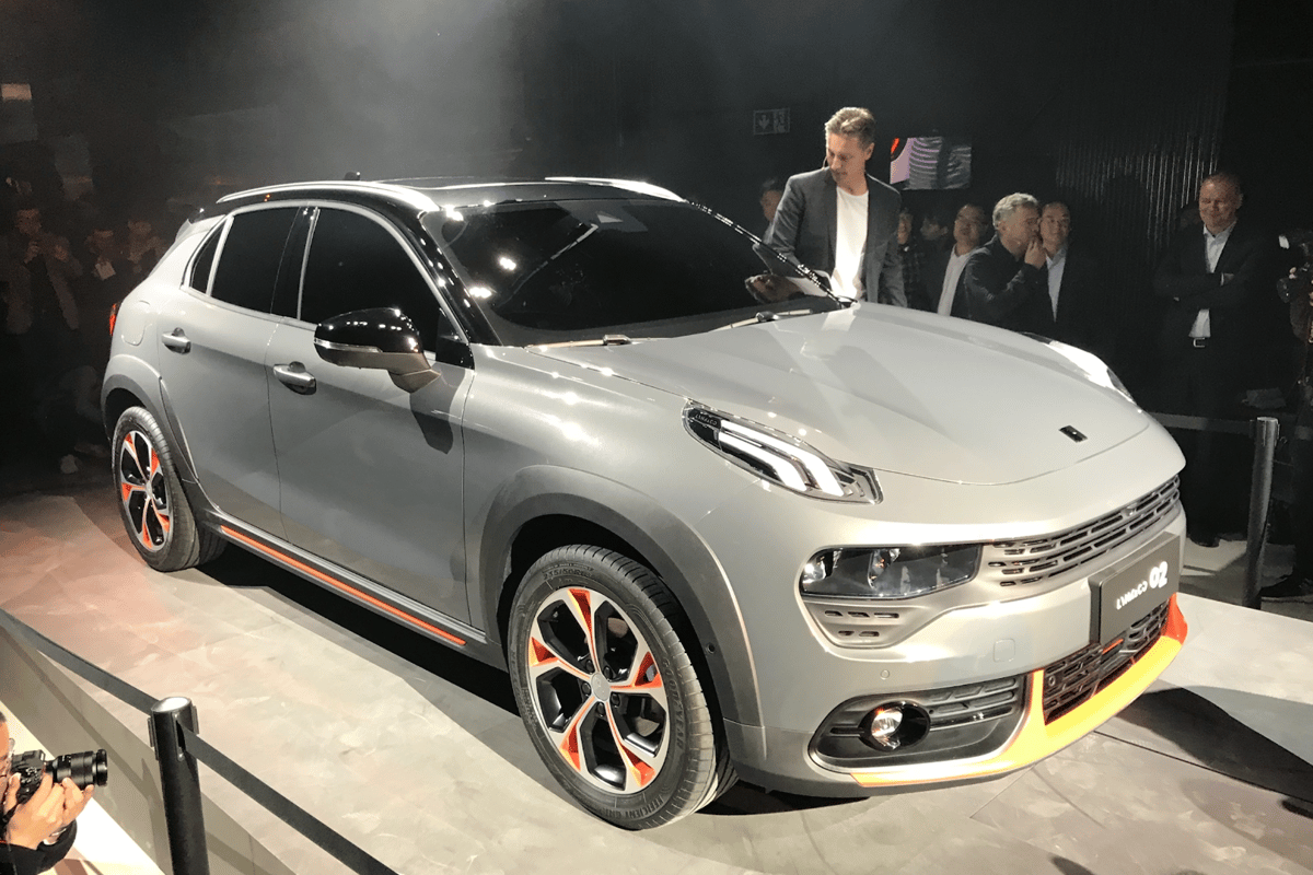 Lynk & Co reveals its new 02 crossover SUV in Amsterdam today