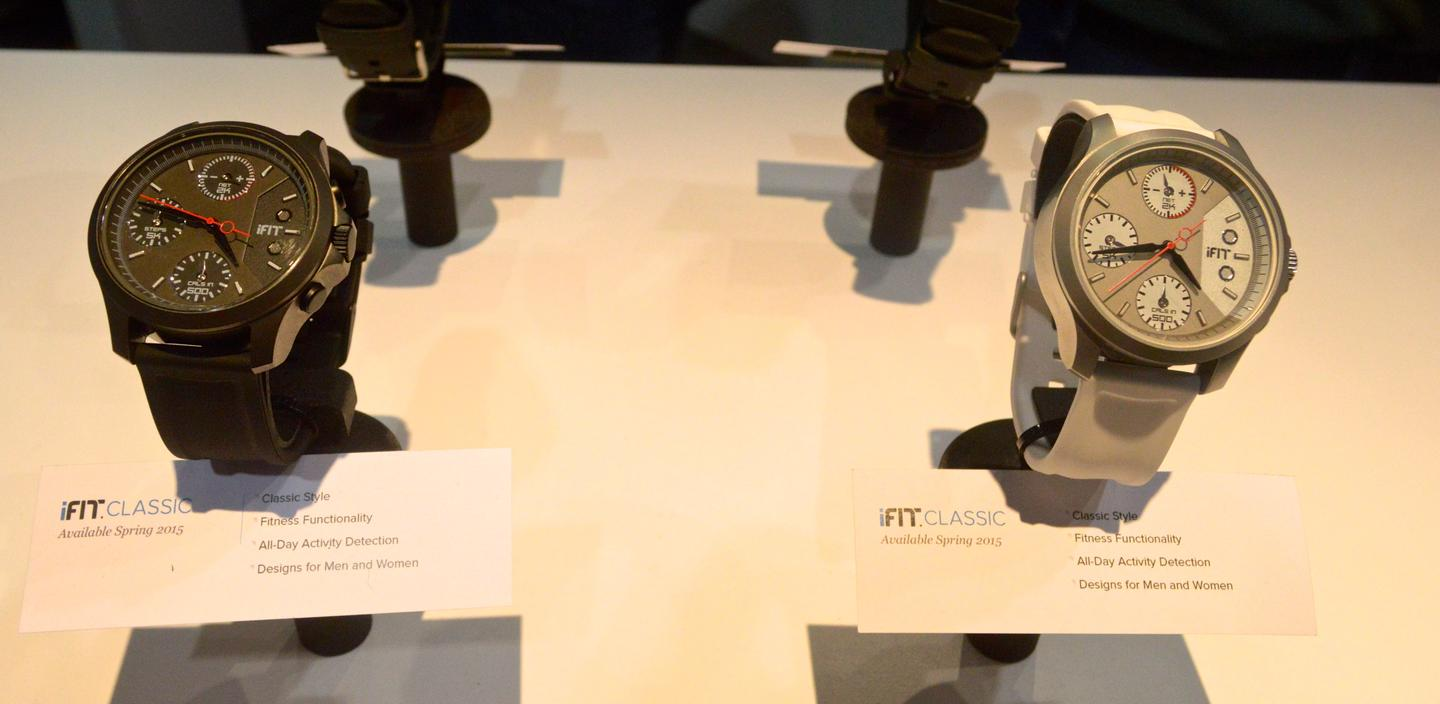 Like the Duo, the iFit Classic will be sold in men's and women's styles (Photo: C.C. Weiss/Gizmag)