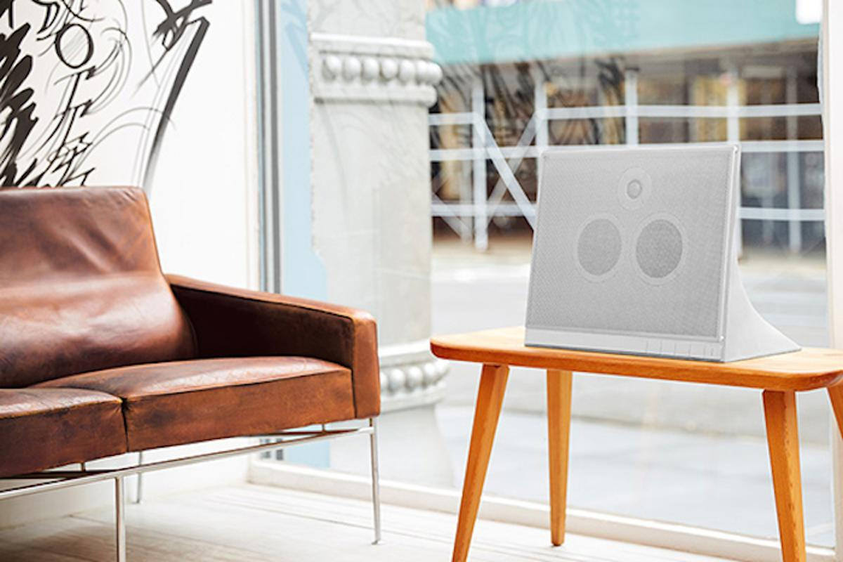 Master and Dynamic has unveiled its first speaker, the MA770, an industrial-chic concrete block