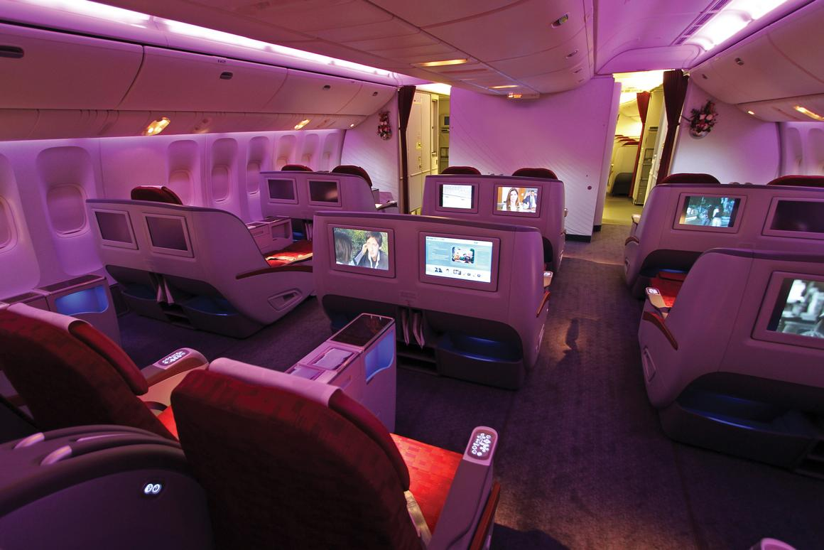 IntelliCabin is designed to make cabin operation more efficient and flights more pleasant for passengers