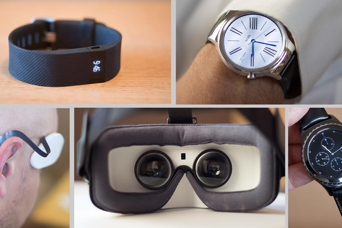 Gizmag picks the best wearables of 2015