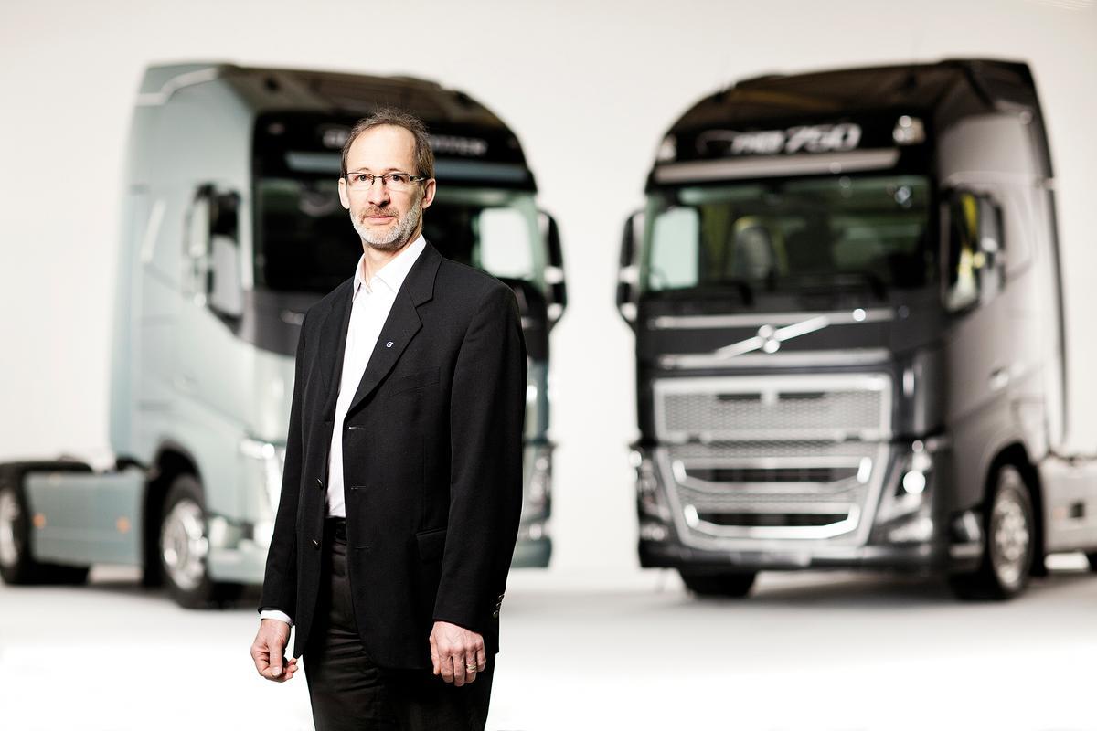 Carl Johan Almqvist, Volvo Trucks' Traffic and Product Safety Director