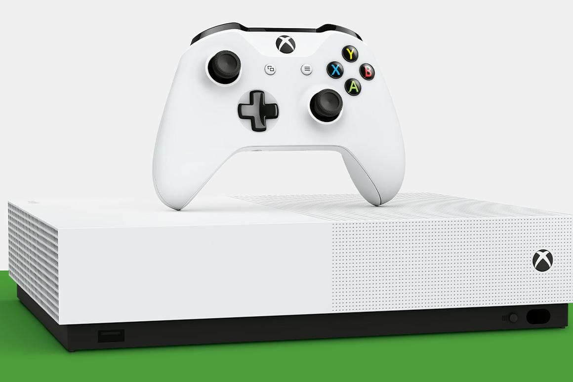 The Xbox One S All-Digital Edition has no Blu-Ray drive, and is US$50 cheaper than the regular model