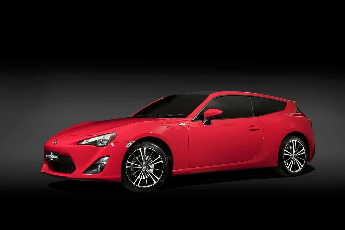The GT86 was recently updated, but this shooting brake concept is based on the older car