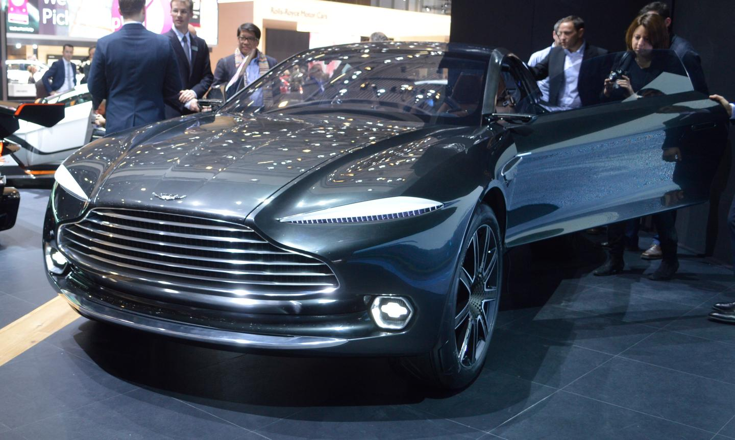 The DBX concept has an electric drive and drive-by-wire steering (Photo: C.C. Weiss/Gizmag)