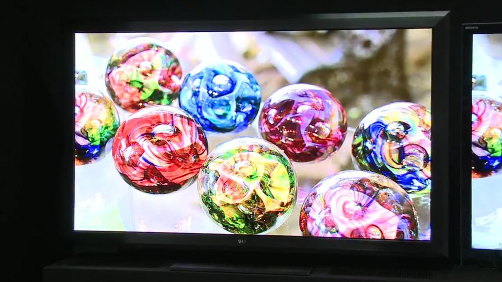 Sony's new Crystal LED Display prototype produces an image using a layer millions of LEDs